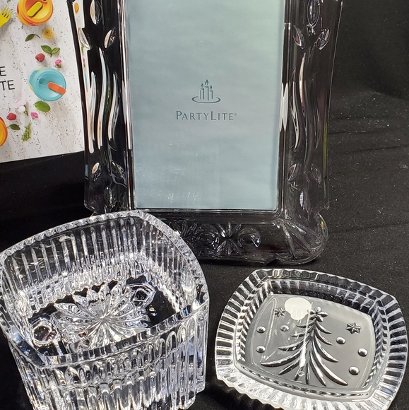 Waterford Crystal Other - Crystal music box and picture frame
